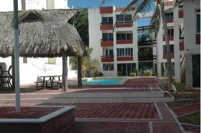 Departamento A La Venta Frente A La Playa De Costa Brava, Chicxulub