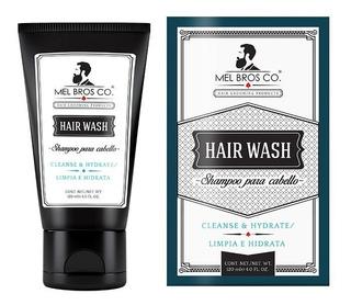Mel Bros Co Shampoo Limpieza Profunda 120 Ml Cabello Barba