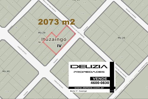 Imagen 1 de 4 de Venta De Lote Para Emprendimiento Parque Leloir (2073m2)