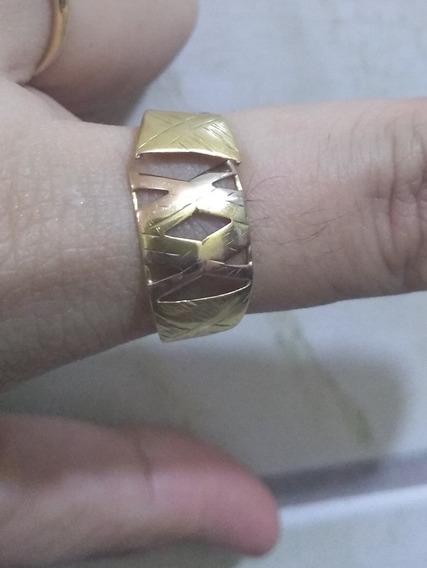 Anel Em Ouro 18 750