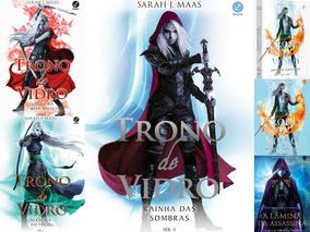 Coleção Da Série Trono De Vidro Exceto Volume 1 - 6 Livros