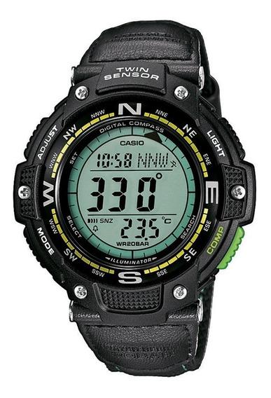 Reloj Casio Hombre Sgw-100b-3a2,out Gear,brujula,termometro