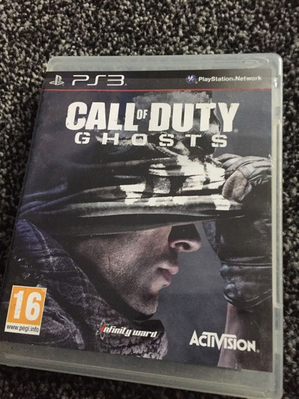 Call Of Duty Ghost Ps3 Novo Física Novo Lacrado