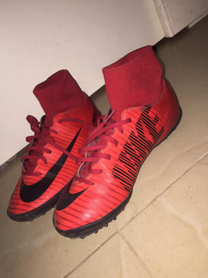 Botines Mercurial Superfly V Fire
