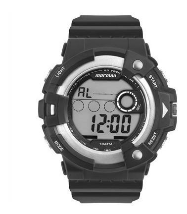 Relógio Mormaii Masculino Digital Preto Grande Mo15100aa/8k