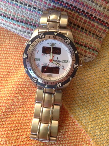 Relógio Seculus - Novo - Frete Grátis - Mod. 17065g0