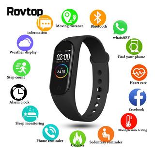 M4 Smart Watch Band 4 Fitness Tracker Frequncia Cardaca Pres