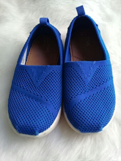 Tenis Toms Azul Niño. La Segunda Bazar