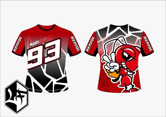 Camisa Marque Maquez 93 Moto Gp Racing 2019 Mod 1