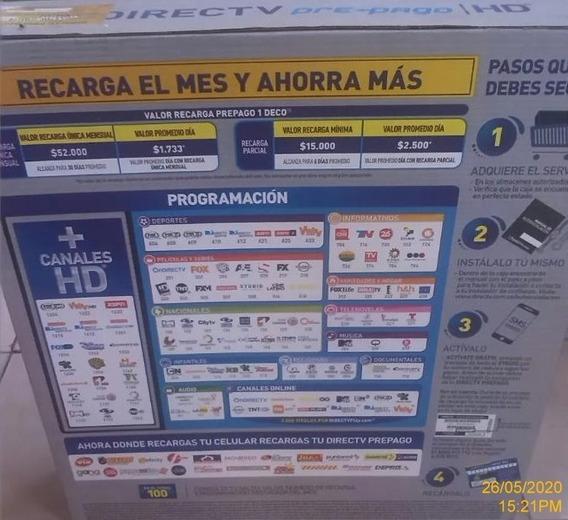 Directv Kit Decodificador Colombiano Full Hd +30 Dias Gratis