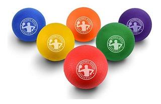 Juego 6 Bolas Colores Jugar Dodgeball Quemados