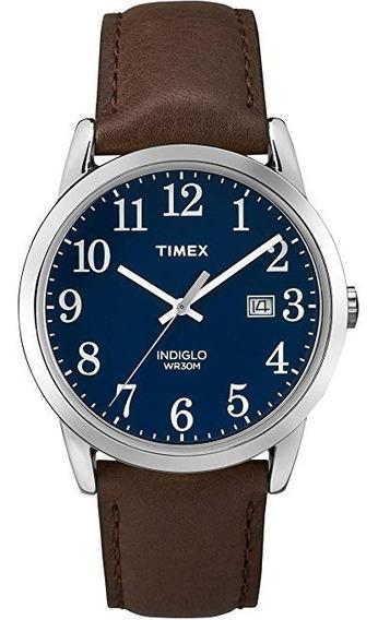 Timex - Reloj De Pulsera Para Hombre Con Correa De Piel De 1