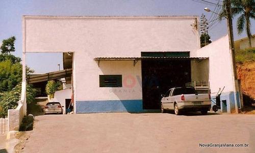 Imagem 1 de 5 de Galpão Comercial À Venda, Centro (caucaia Do Alto), Cotia - Ga0006. - Ga0006