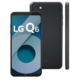 Smartphone Lg Q6 M700tv 32gb Preto 13mp [vitrine]