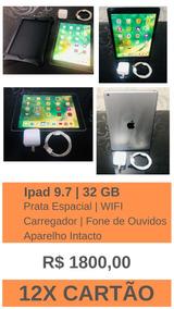 Ipad New 32gb Tela 9,7 Wi-fi Original Lançamento 2018