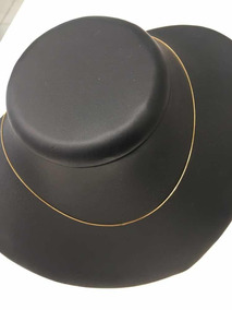 Gargantilha Ouro 18k Veneziana Tamanho 45cm