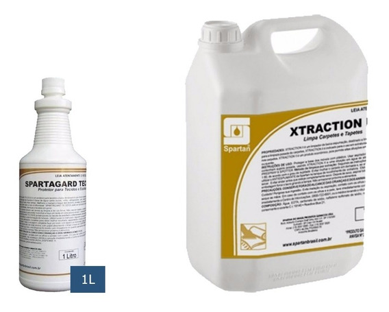 Kit Detergentes Spartagard 1l + Xtraction 5l Spartan
