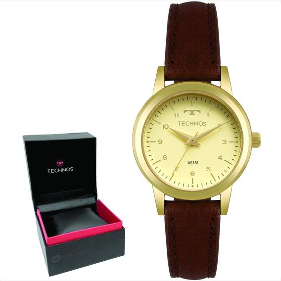 Relógio Technos Boutique Feminino Original Nf 2035mow/2x
