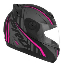 Capacete Moto Feminino Pro Tork 788 G6 Rosa Fosco 56 58 60