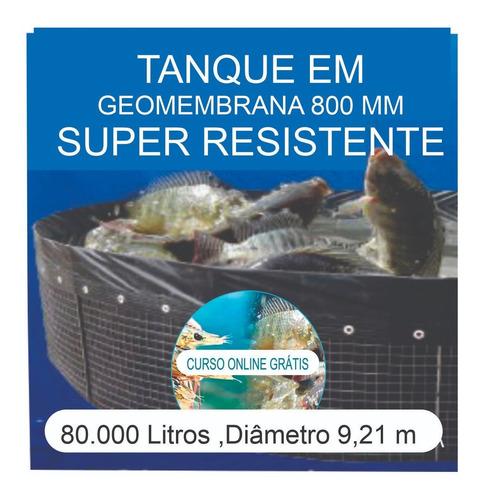 Imagem 1 de 6 de Kit Tanque 80.000l,geomembrana,testes, Fertilizantes E Curso