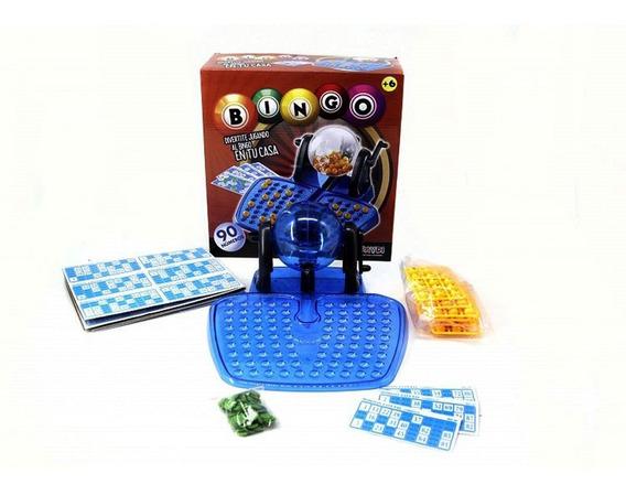 Juego De Mesa Loteria Bingo Familiar 48 Cartones Grande