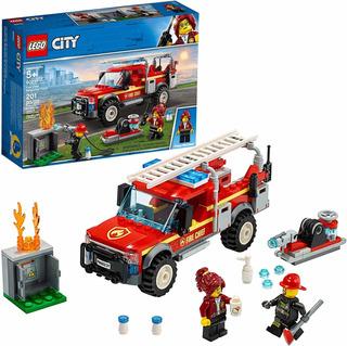 Lego 60231 City Camión De Respuesta Jefa Bomberos Fire Chief