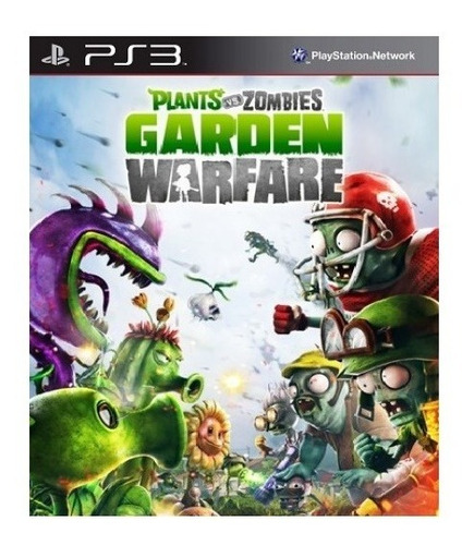 Plants Vs Zombies Ps3 Garden Warfare Juego Original Play 3