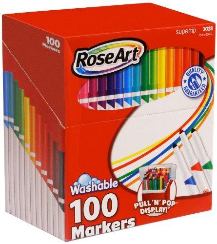 Roseart Supertip Color Clasificado Marcadores Lavables 100-