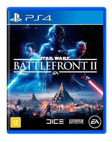 Star Wars Battlefront Ii Ps4 Mídia Física Novo Lacrado