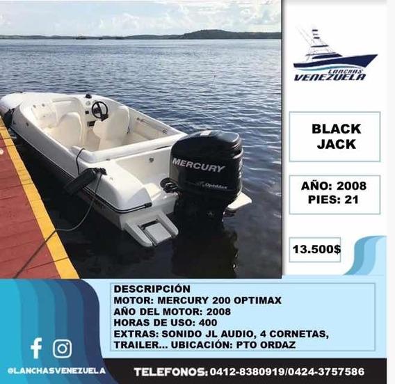 Lancha Black Jack 21 Lv95