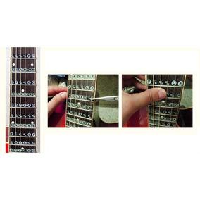 Aprenda A Tocar Violão E Guitarra - Adesivo Notas Musicais
