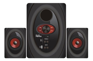 Minicomponente Bluetooth Micro Sd Usb Con Woofer Pp-mcomp22