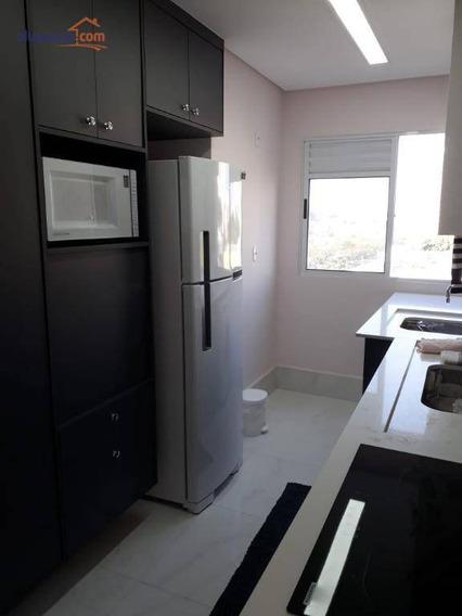 Apartamento Com 1 Dormitório À Venda, 50 M² Por R$ 212.000 - Jardim Satélite - São José Dos Campos/sp - Ap7621