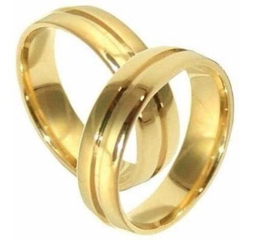 Aliança De Casamento Ouro 18 K