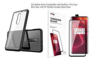 Oneplus 7 Pro Case Zizo Refine & Glass Full View 5d Zizo Hd