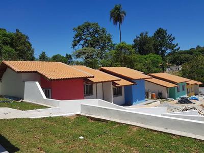 Casa Em Centro, Vargem Grande Paulista/sp De 67m² 2 Quartos À Venda Por R$ 170.000,00 - Ca172215
