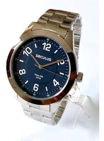 Relógio Prateado Masculino Seculus 28923g0svna1