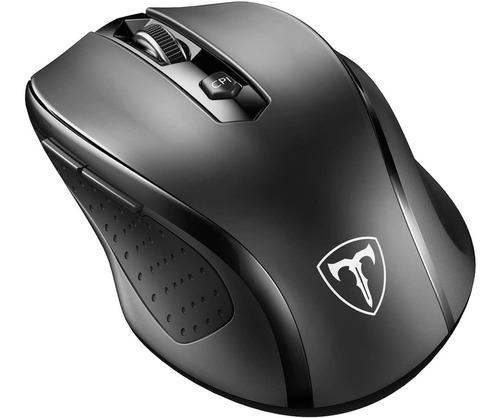 Mouse Inalámbrico Portátil Ergonómico 6 Botones Victsing