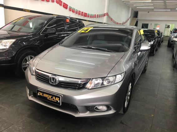 Honda Civic 2.0 Lxr Aut. 2014 - Impecável