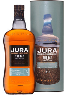 Whisky Jura The Bay 12 Años Single Malt De Litro Con Lata