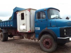 Caminhão Caçamba Com Cabine Extra Mercedes-benz 1513 Ano:85
