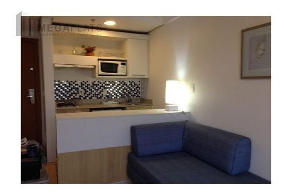 03486 - Flat 1 Dorm, Centro - Barueri/sp - 3486