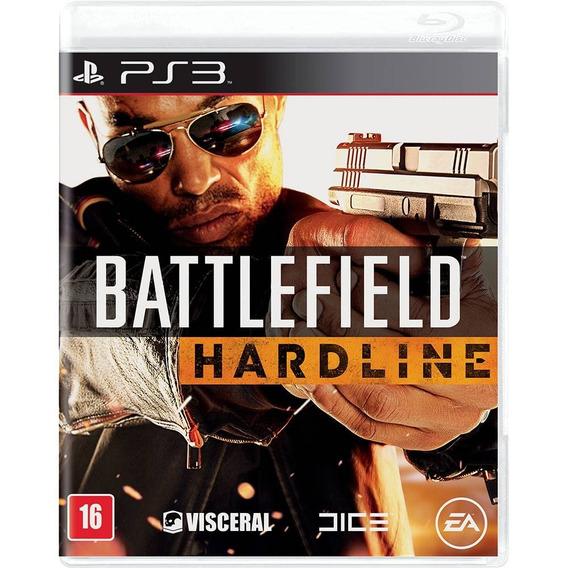 Ps3 Battlefield Hardline Novo Lacrado
