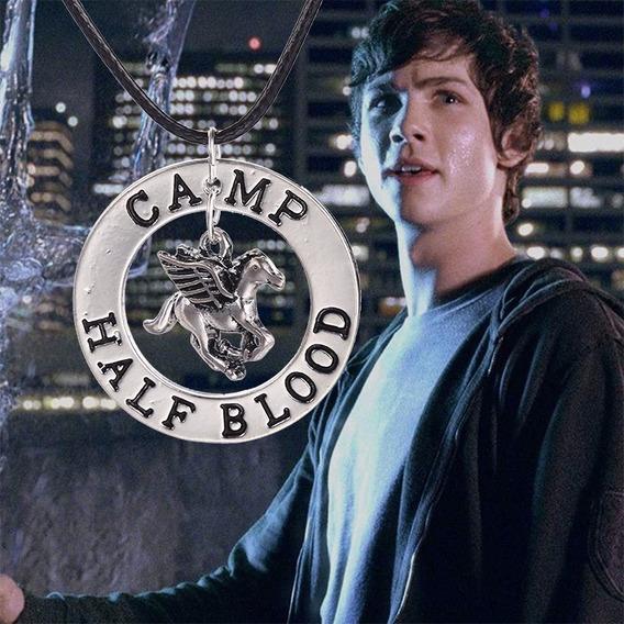 Colar Percy Jackson Camp Half Blood Olimpo Frete Gratis!