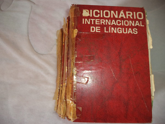 Dicionário Internacional De Línguas - 4 Volumes