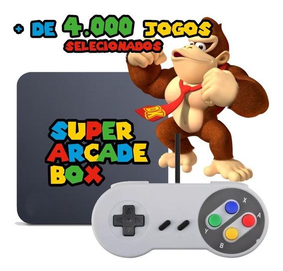 Super Arcade Game Box Retrô - Joystick Snes