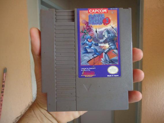 Megaman 3 - Cartucho Original Do Nes - Nintendinho