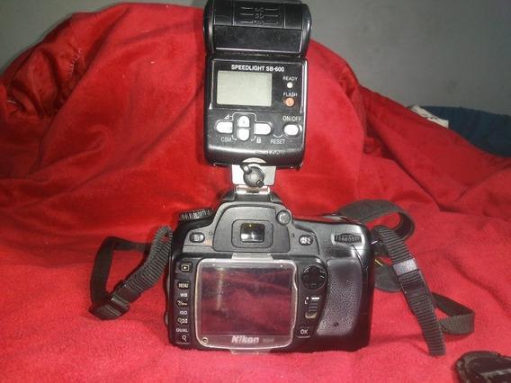 Camara Reflex Completa. Nikon D80