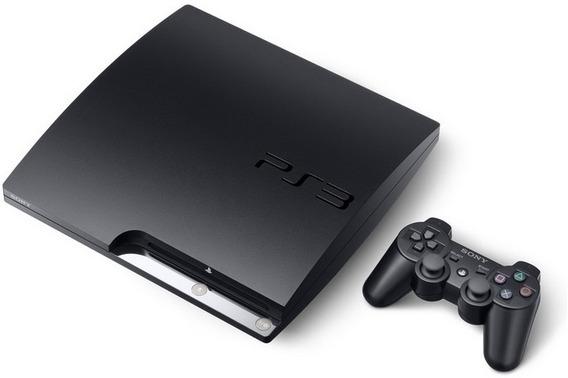 Playstation 3 Slim Com 3 Mes De Uso
