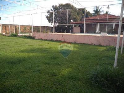 Chácara Em Sumaré Com Casa Sede 2 Edículas, Piscina, Sauna, Campo De Futebol - Ch0006